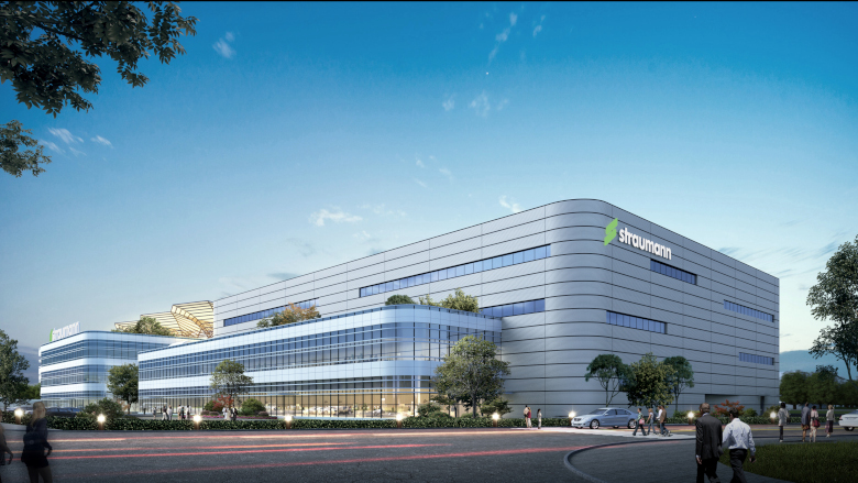 Straumann Group to build its first manufacturing, education and innovation centre in China